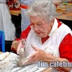 Babka a ruční práce