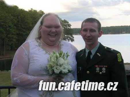 Důkaz že láska je slepá - Vtipné fotky