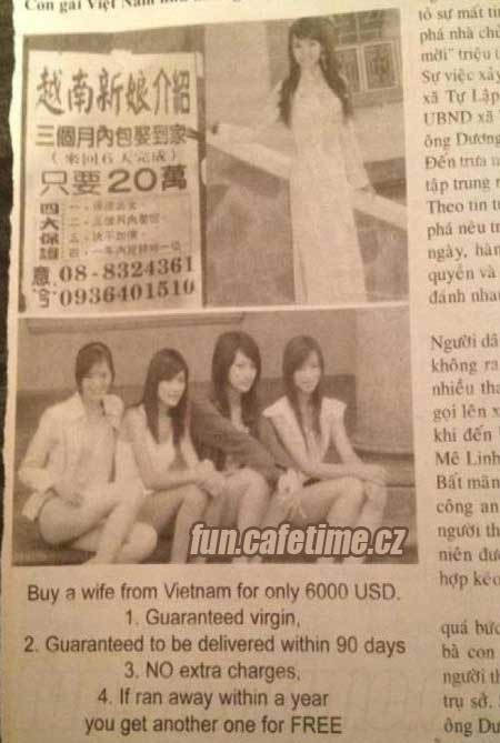 Ženy na prodej